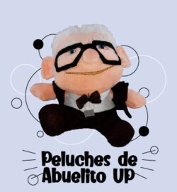 Peluches de abuelitos UP